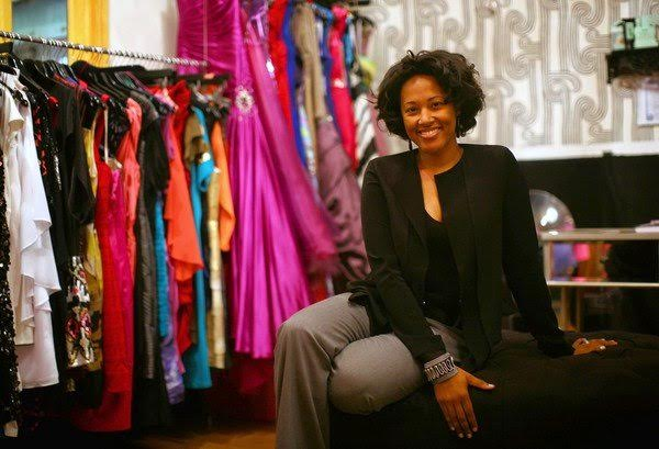 Jennifer Burrell in the showroom of The Frock Shop, Wednesday, Oct. 31, 2012. (E. Jason Wambsgans/Chicago Tribune) B582481281Z.1 ....OUTSIDE TRIBUNE CO.- NO MAGS, NO SALES, NO INTERNET, NO TV, CHICAGO OUT, NO DIGITAL MANIPULATION...