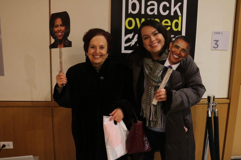 """Toniann Liatto was featured in """"Farewell Obama""""."""