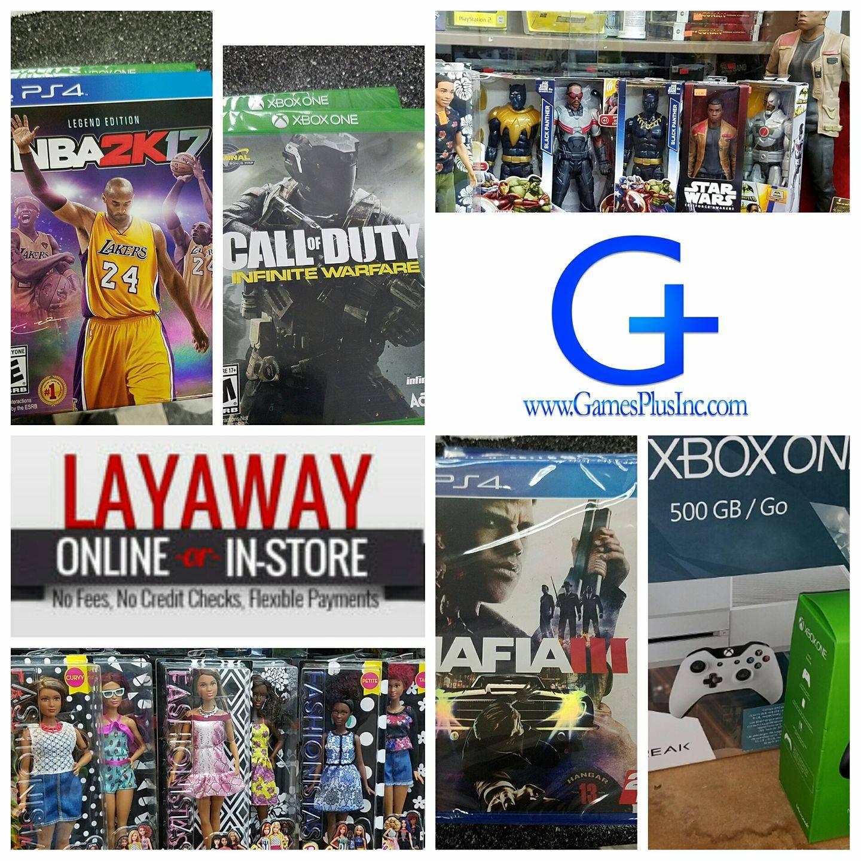 Games Plus Inc.